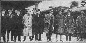2-26-1915-Athletics Leaving For Florida