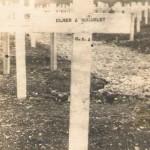 2. McAuley's original grave in Meuse-Argonne American Cemetery