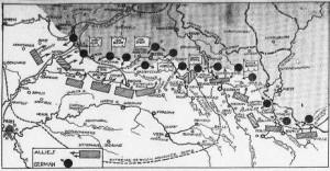 Armies on 9-23-1914