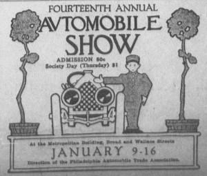 Auto Show 1-9-1915