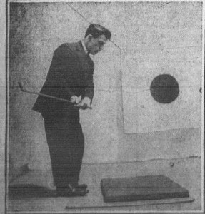 Gimbels Indoor Golf- 1-11-1915