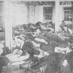 Hotel de Glink sleeping room-1-25-1915