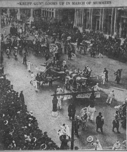Mummers Parade 1-1-1915