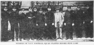Navy Football October 17, 1914