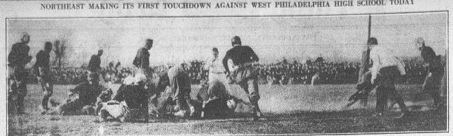 Northeast-West Football-11-13-1914
