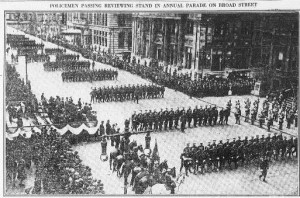 Police on Parade 10-24-1914