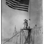 Raising Flag At Vera Cruz-4-21-14