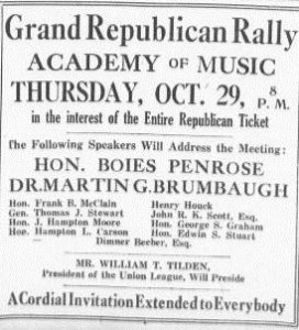 Republican Rally 10-29-1914