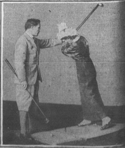 Wanamaker's Indoor Golf-1-11-1915