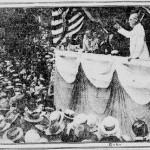 Wilson in Philadelphia July 4, 1914