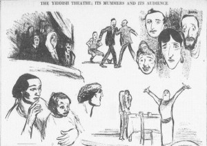 Yiddish Theatre -11-10-1914
