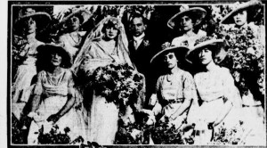 4-28-1915 Biddle Wedding