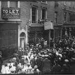 Looting of German Furniture Shop High Street London-1915