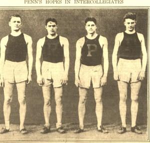 5-28-1915 Penn Track Team