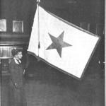 6-1-1915 Sarah Wilson With Pan American Flag