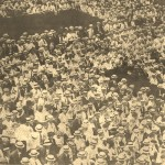 7-17-1915 Bleachers at Phillies Game