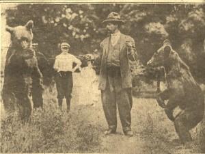 7-22-1915 Gypsy Bears