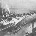 Eastland After Capsizing