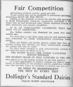 8-13-1915 Dolfinger's
