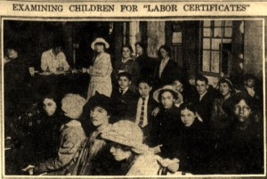 10-25-1915 Kids Getting Work Permits