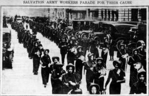 Salvation Army Parade