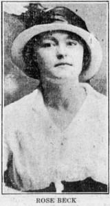 1-11-1916 Rose Beck