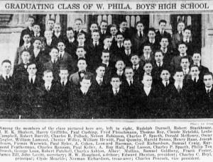 2-11-1916 West Phila. Boys' High