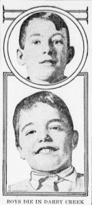 2-18-1916 Darby Creek Boys