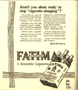 2-29-1916 Fatima Cigarettes