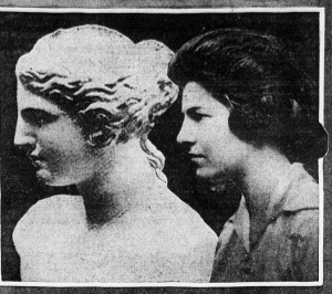 Venus and Miss Margaret Willetts