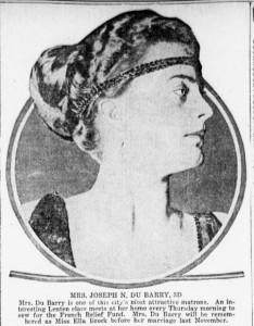 Mrs. DuBarry, 3rd