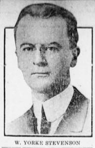 3-7-1916 W. Yorke Stevenson