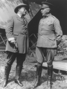 Theodore Roosevelt and General Leonard Wood