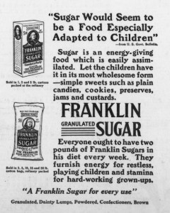 Franklin Sugar-2-14-1917